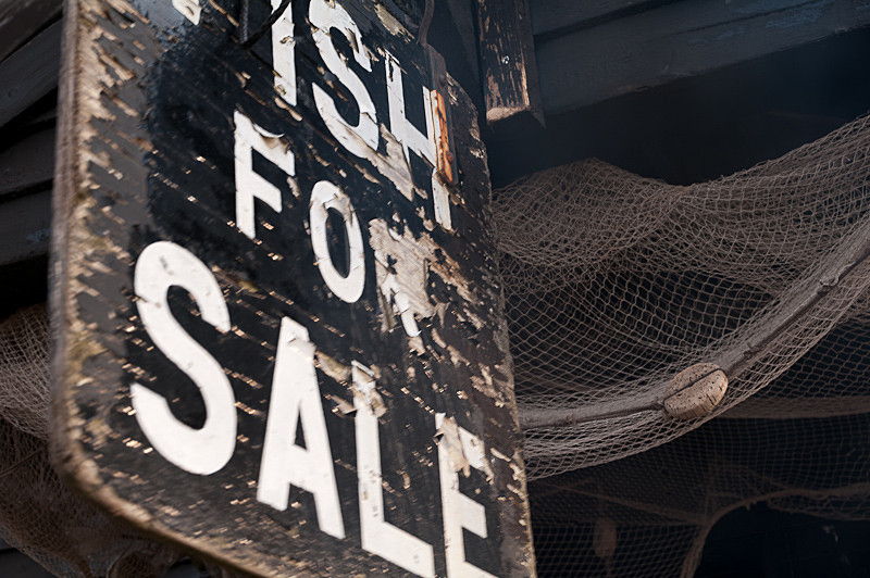 Fish for Sale - Walberswick Beach - Suffolk Pictures
