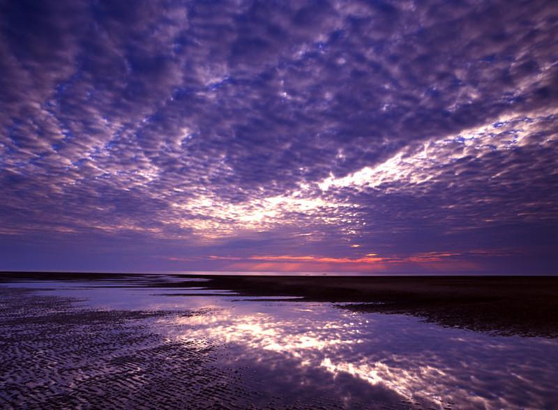 Hunstanton Beach Sunset, Norfolk