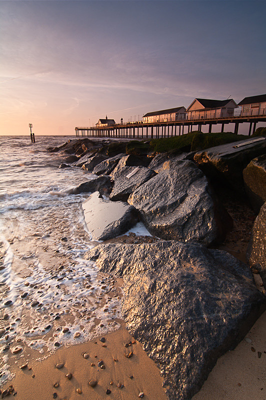 Southwold Pier Photo at Sunrise, Suffolk by Will Barton Photography