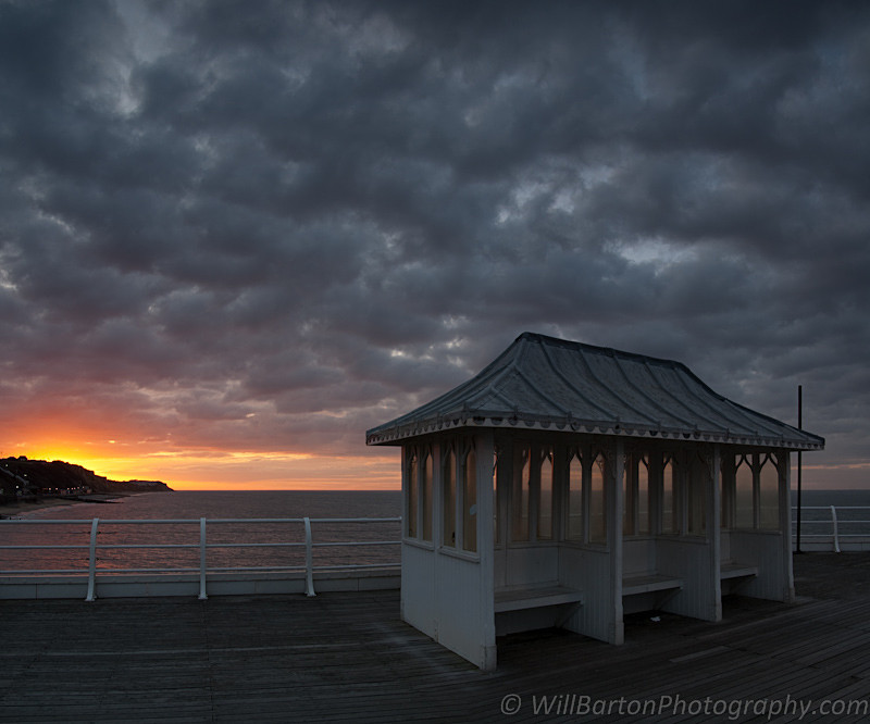 Stormy Sky Photo of Cromer Pier, North Norfolk