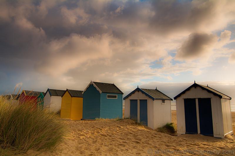 Southwold Beach Huts Sunrise Photo, Suffolk - by Will Barton Photography