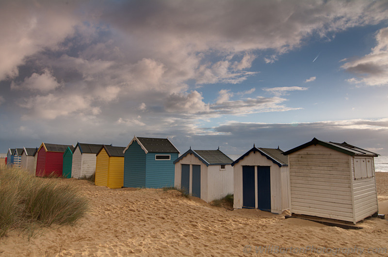 Southwold Beach Huts Sunrise Photo, Suffolk - by Will Barton Photography