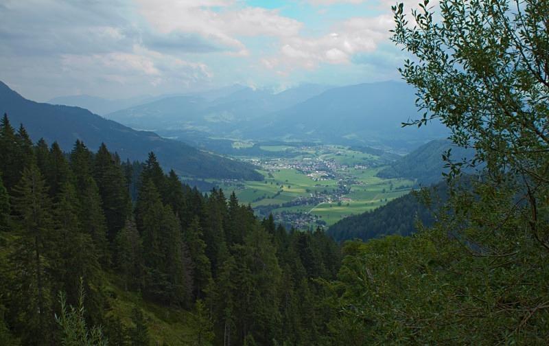 Valley View of Grobming from Stoderzinken, Austria - Austria