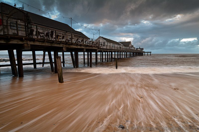 Southwold Pier & Beach Photo at Sunrise, Suffolk by Will Barton Photography