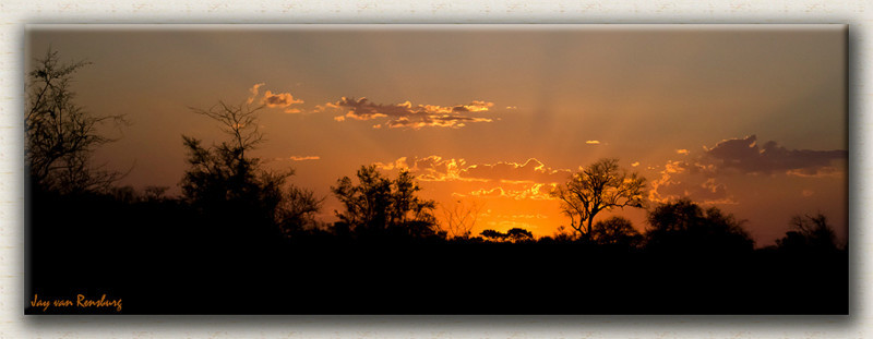 KNP Sunset - African Sunset
