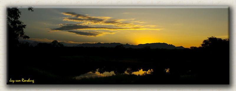Makgokolo Sunset - African Sunset