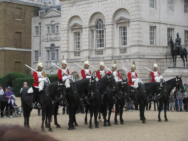 The Household Cavalry - Royal London Tour