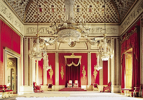 The Throne Room - Royal London Tour
