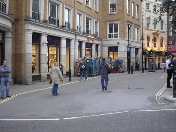 More shopping - Royal London Tour
