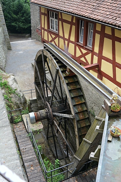 Water wheel - Our Travels