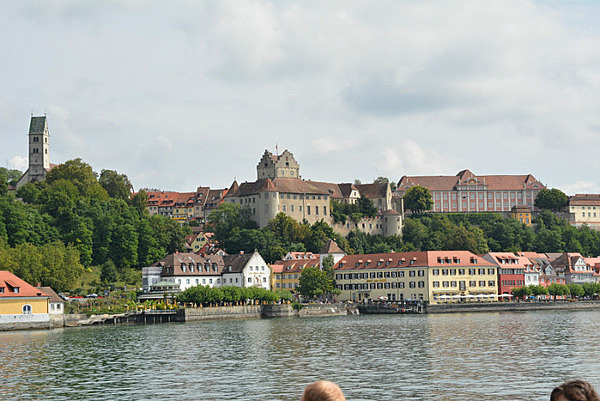 More Distant View of Meersburg - Our Travels