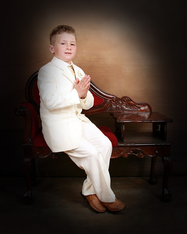 Holy Communion 2 - Studio style Portrait photography.