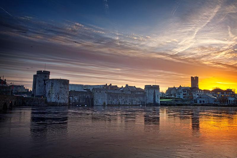 Dawn King John's Castle - Limerick