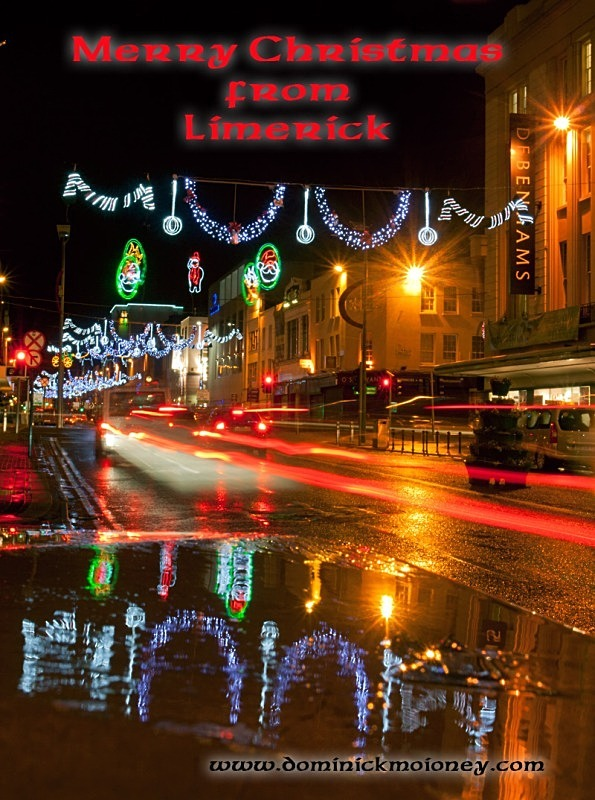 Merry Christmas From Limerick