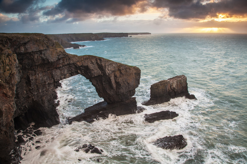 Landscape of the Pembrokeshire National Park