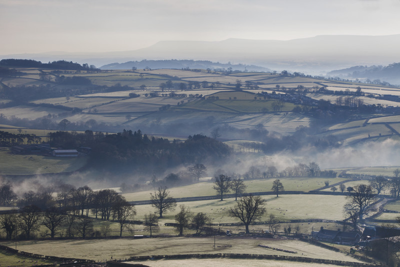 Misty Dawn, The Brecon Beacons
