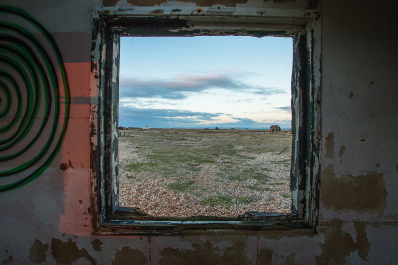 Fine art landscape photography at Dungeness.