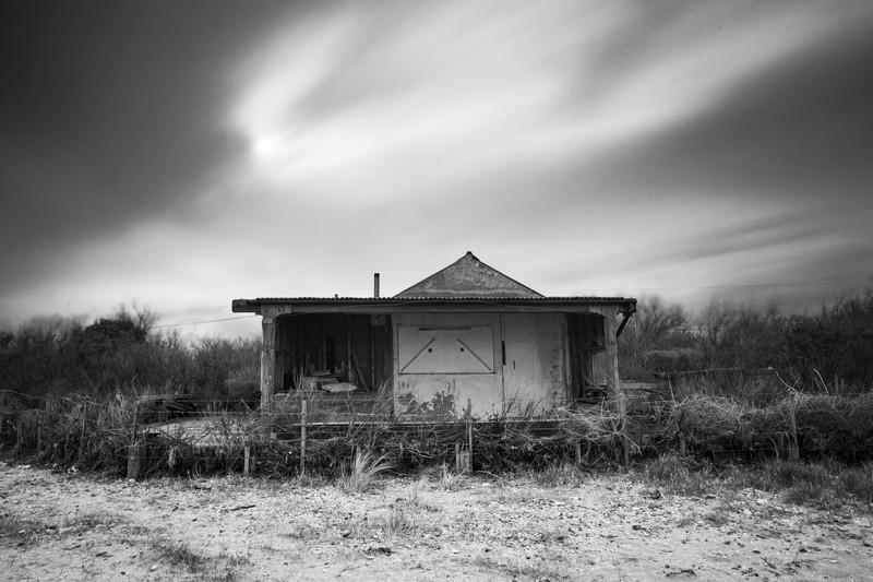 Beach House. - Monochrome