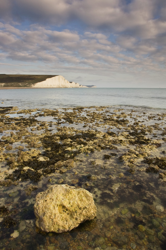 Landscape photography of the Sussex coastline.
