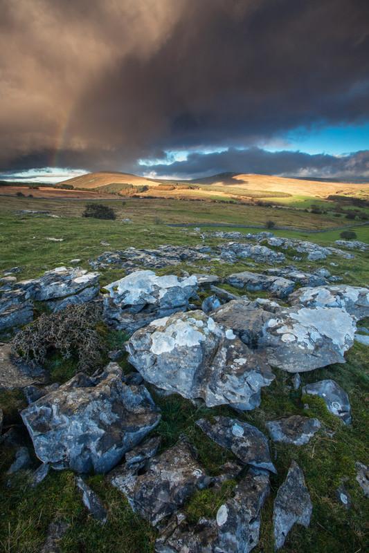 Limestone, Brecon Beacons.