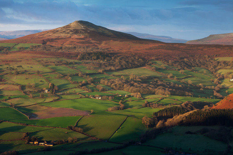 The sugar Loaf, Wales