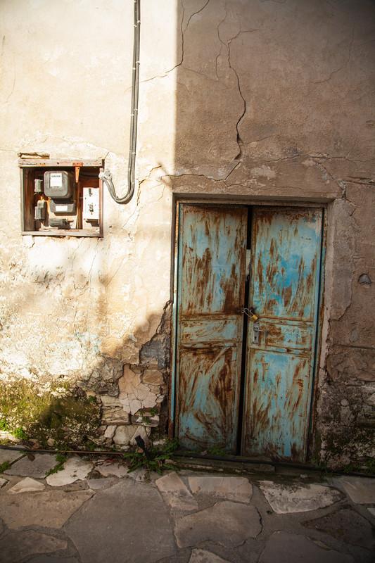 Travel photography of urban Larnica, Cyprus.