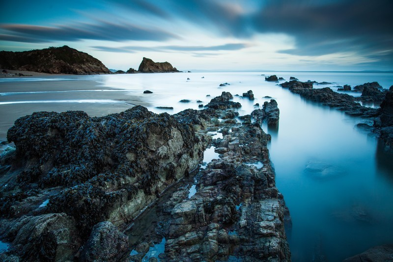 Landscape photography of the Pembrokeshire National Park