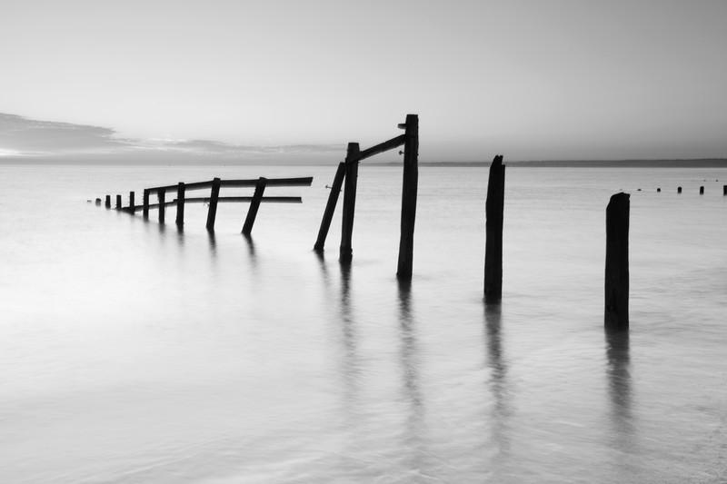 Isle Of Sheppy. - Monochrome