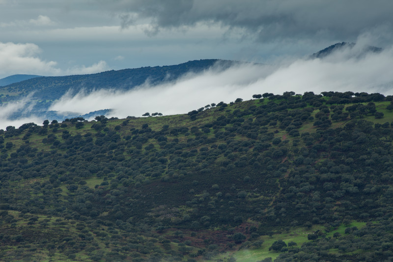 Fine art landscape photography taken from the stunning location of Extremadura, Spain.