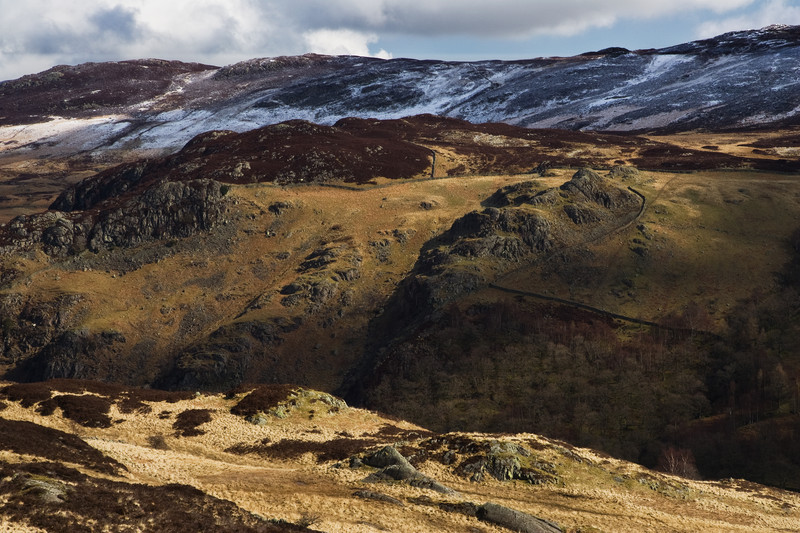 Fine art landscape photography taken from the stunning location of the Lake District National Park