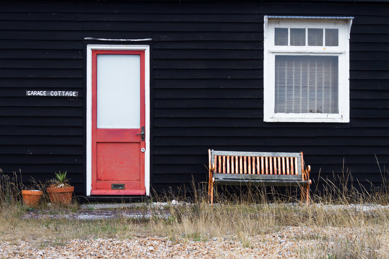 Photography of Dungeness, Kent.