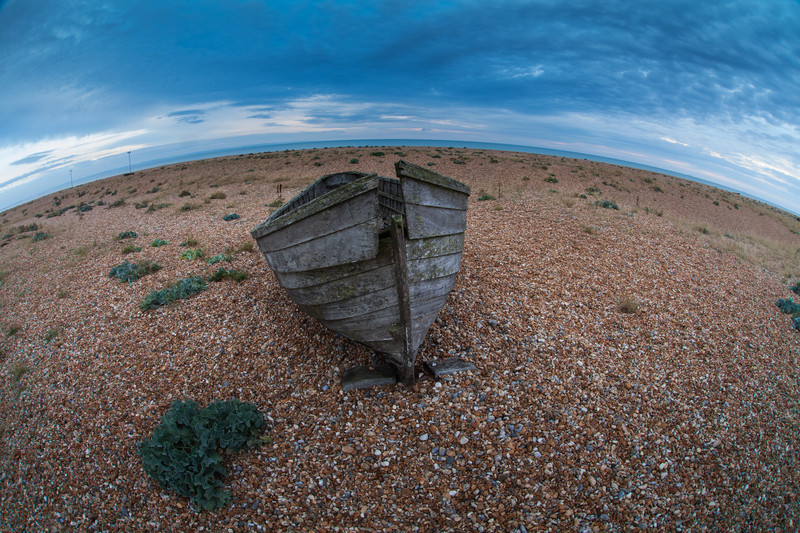 Landscape photography of the Kent coast, UK.