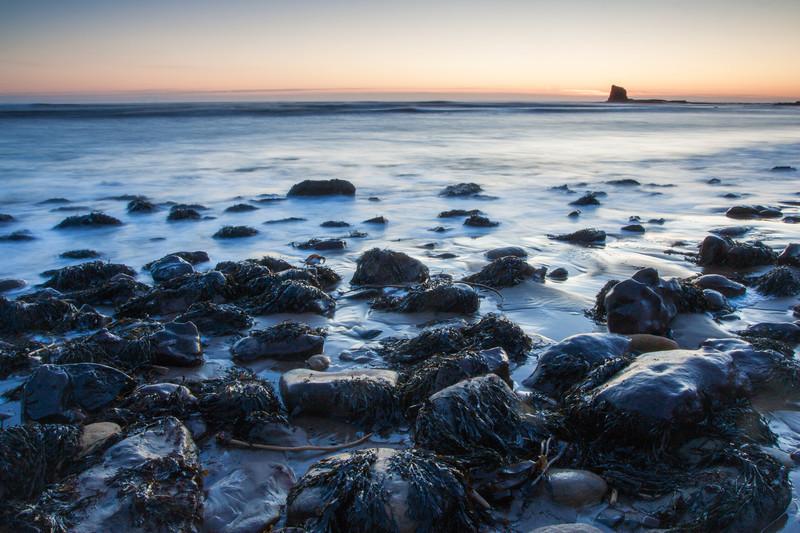 Receding Tides. - Seascapes