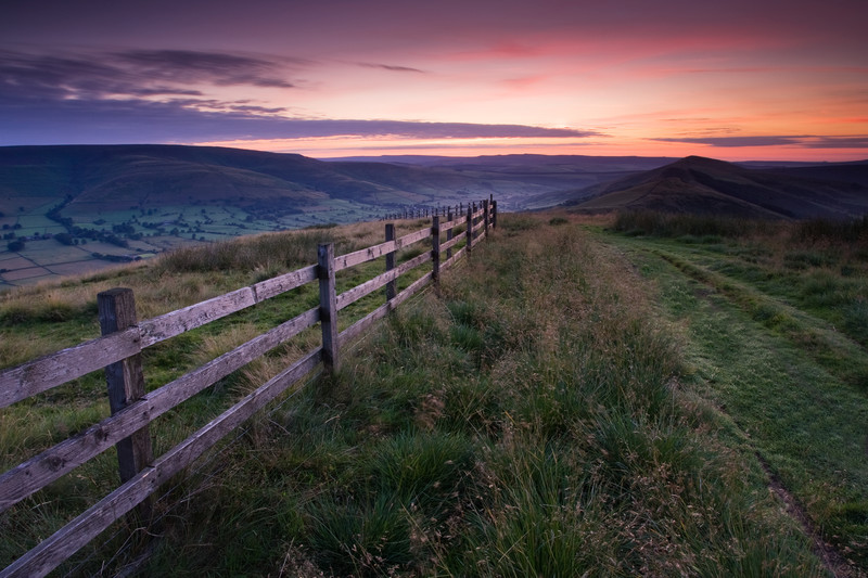Landscape photography taken in the UK by photographer Lewis Phillips