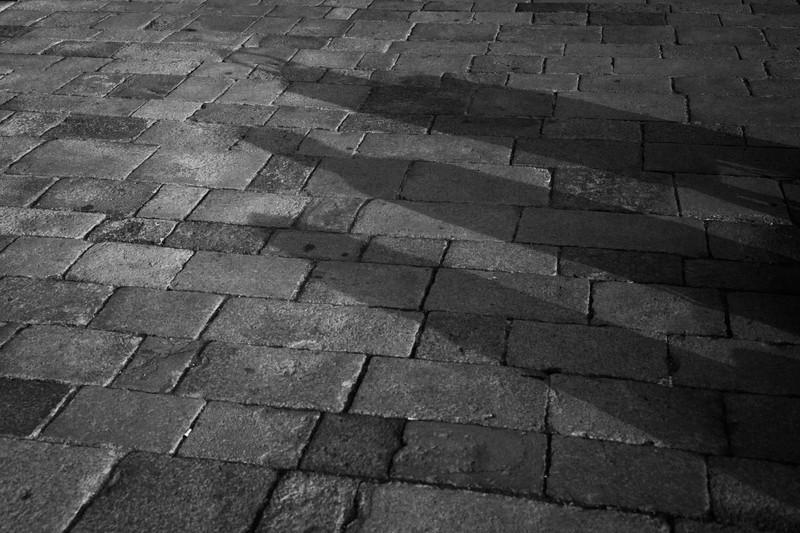 Silhouette's Venice. - Monochrome