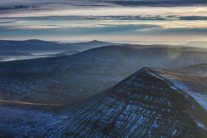 Winter in the Beacons