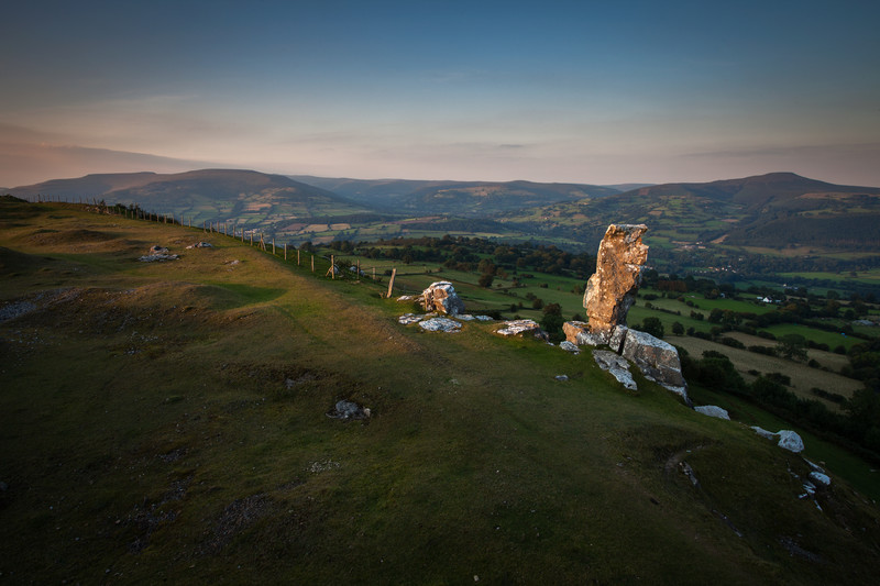 Fine art landscape photography taken from the stunning location of the Brecon Beacons National Park.