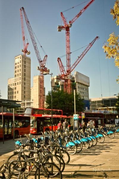 Boris Bikes - Views of London