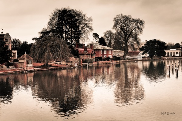 The Thames at Marlow - Landscapes