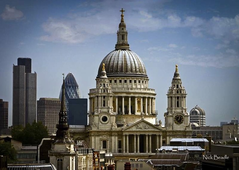 St. Paul's and the City - Buildings and Structures