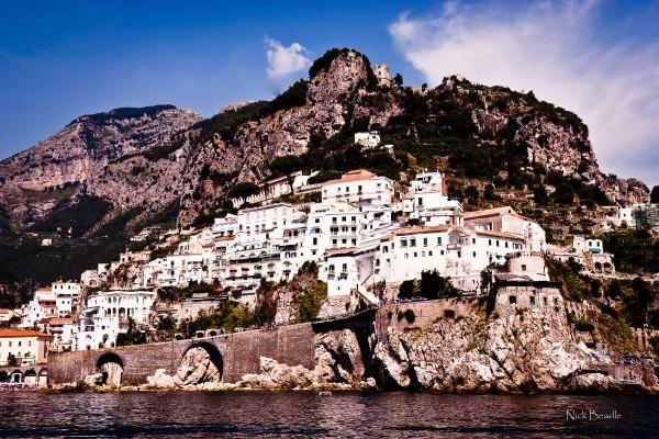 Amalfi Hillside - Italy