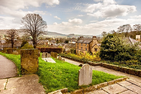 View from the Church at Bakewell - Peak District