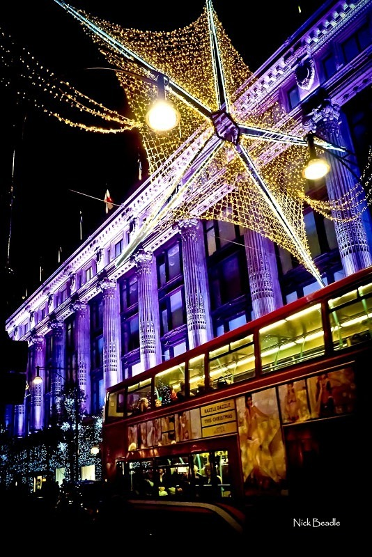 Oxford St Xmas Star - Buildings and Structures