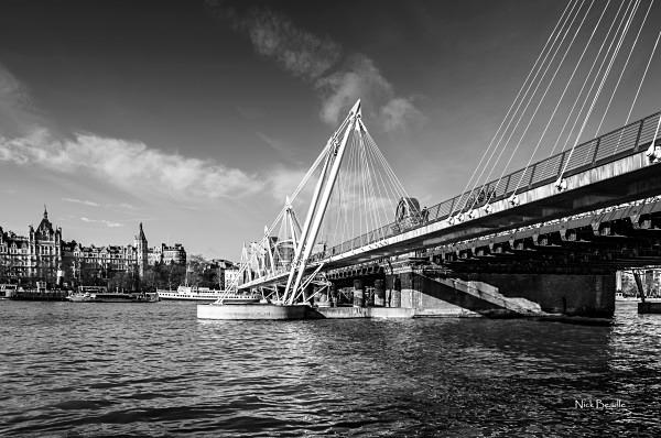 Hungerford Bridge - Views of London