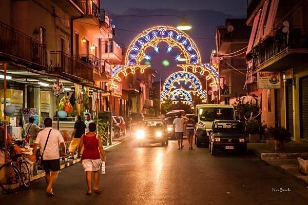 Ascea Festival Street View - Italy