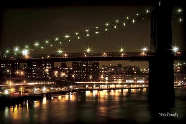 Bridge over the Hudson River - New York