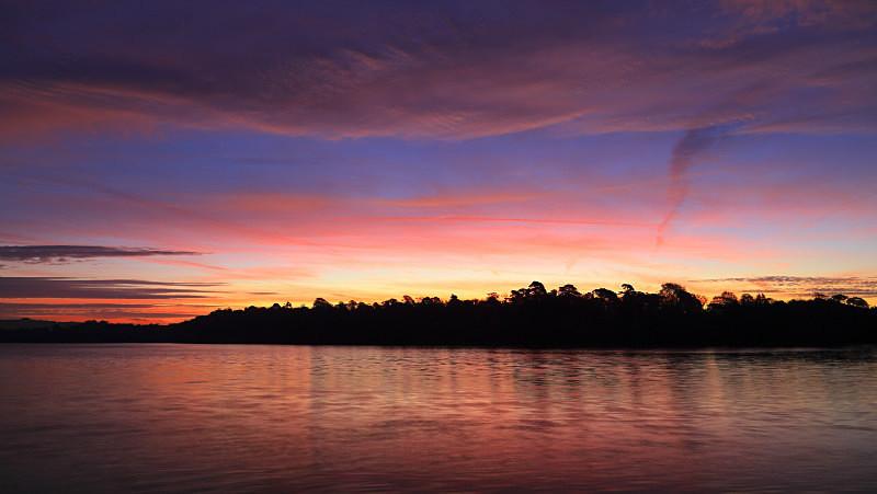 Saltram Sunrise Panorama - UK Landscape Prints