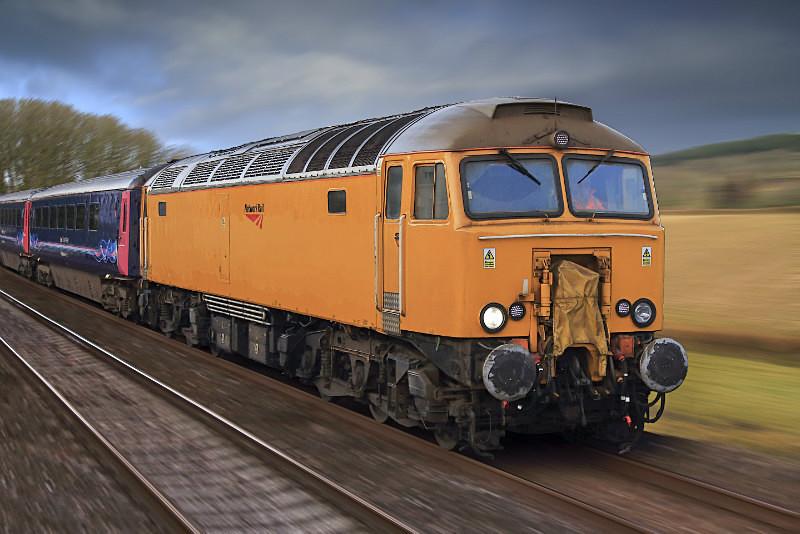 Class 57 305 - Railway Artwork Prints