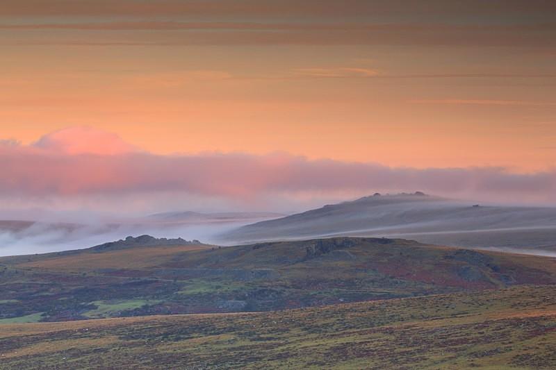 Mists of Great Mis - Dartmoor Landscapes Prints