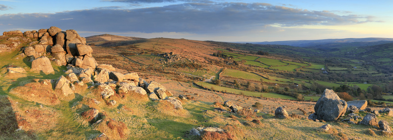 Bell Tor Vista - Dartmoor Landscapes Prints